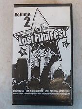 LOST FILM FESTIVAL COMPILATION  Volume  2   Bloodlink Records 1 VHS Tape