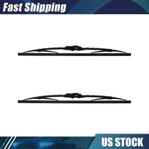 Front Windshield Wiper Blade 2x for 1961-1962 Ford Thunderbird - ANCO