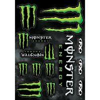Factory Effex Mx FX Monster Energy Motocross Dirt Bike Decal Moto Sticker Sheet