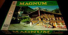 1972 Jigsaw Puzzle Milton Bradley Magnum Bernese Oberland Switzerland 2000 pcs