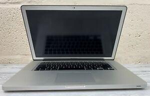 """Apple MacBook Pro 15.4"""" Mid 2010 - Core i5 2.4 GHz - 8 GB RAM - 250 GB SSD"""