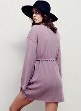 NEW Free People Clementine Peruvian Tunic Sweater Size XS Bell Sleeve Alpaca