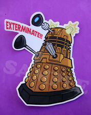 Doctor Who Dalek Vinyl Decal Die Cut Laptop Skateboard Sticker Doctor Who 11th