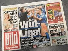 Bildzeitung vom 26.08.2013 * Geschenk zur Geburt * Bundesliga