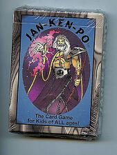 Jan-Ken-PO  Card Game 1996 50 card deck Playtime X1