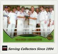 2001-02 Topps Gold Cricket Cards Record Breakers Card R1 Australia VS Zimbabwe