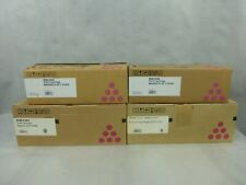 4 x Genuine Ricoh SP C310HE Magenta Print Cartridges New In Opened Boxes