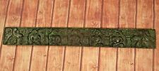 """Old Vintage Deep Hand Carved Wooden  Wall Hanging Lord Buddha 36"""" L Panel"""