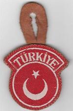 OSS Trained Turkiye Troops In Korea Pocket Hanger Bevo Style On Leather Inv# 982