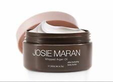 Josie Maran Whipped Argan Oil Body Butter, 8oz, Toasted Brown Sugar *unsealed*