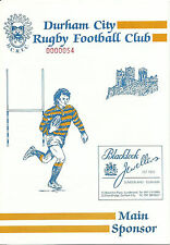 Buy Uk Clubs Players Rugby Union Programmes 1990s Ebay