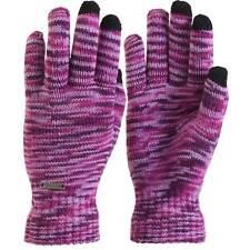 TrailHeads Women's Space Dye Touch Screen Knit Gloves - light purple