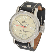 Aristo Messerschmit Uomo Earnshaw 3h262-alu ETA 2824-2 Swiss Movement 5atm