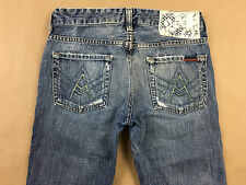 7 FOR ALL MANKIND JEANS Womens Distressed Boot A Pocket Tag Sz 24 Actual 27x32
