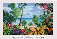 Tropical Hibiscus Flowers Hello Hibiscus Eileen Seitz Palm Trees