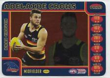 2018 Teamcoach Prize Card Brad CROUCH Adelaide