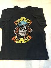 Vintage Guns N Roses 1988 Appetite for Destruction Concert T Shirt
