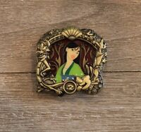Disney WDI Stained Glass Princess Series Mulan Pin Le 300