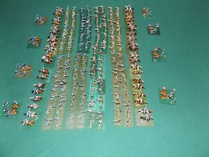 318 figure set of 1/72 scale, Civil War Minitures, for War Gaming, hand painted.