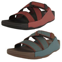 Fitflop Mens Sling II Webbing Slide Sandal Shoes