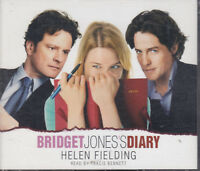 Helen Fielding Bridget Jones's Diary 4CD Audio Book Abridged FASTPOST