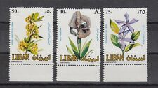TIMBRE STAMP 3 LIBAN Y&T#295-97 FLEUR FLOWER NEUF**/MNH-MINT 1984 ~A49