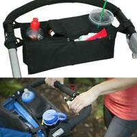 Buggy Organiser | Storage Bag For Pram Pushchair Stroller Cup Holder Baby Travel