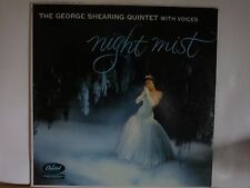 GEORGE SHEARING QUINTET WITH VOICES NIGHT MIST CAPITOL LP # T 943 SLIGHT WEAR