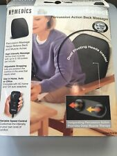 Homedics Therapist Select Percussion Massage Back Massager Muscle Aches Cushion