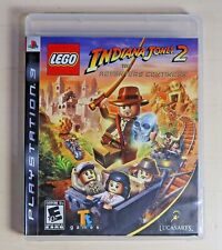 LEGO Indiana Jones 2: The Adventure Continues (PlayStation 3 PS3, 2009) Complete