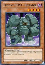 Destiny Hero  Defender  LCGX-EN127  Rare YuGiOh Cards