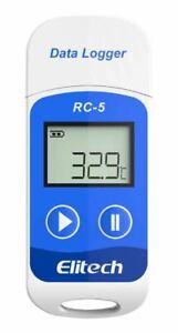 Elitech RC-5 USB Reusable Temperature Data logger Temp Recorder Quick PDF Report