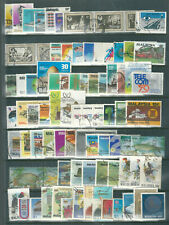 MALAYA MALAYSIA accumulation of good used most with circular cancels 1976 - 1984