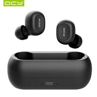 QCY qs1 TWS 5.0 Bluetooth headphone 3D stereo wireless earphone with Dual Mic