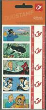 Belgium**TINTIN in Danger-SUBMARINE-SHARK-Booklet 5 Duostamps-2004-BandeDessinée