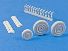 NEW 1:32 MasterCasters MST32026 Bell P-39 Airacobra Wheels & Fishtail Exhaust