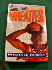 1993 Wheaties Unopened/Full Cereal Box Michael Jordan Use By Oct. 12 1994