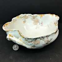 Vintage SCHLEIGER Haviland Limoges France SERVING BOWL 86A  chrysanthemum