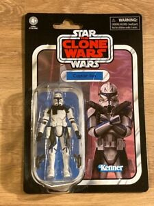 Star wars figurine vc182 the vintage collection captain Rex tvc182 Rare blister
