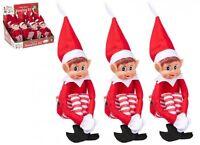 "Elf Christmas red boy brand new Elves Behavin Badly Naughty or Nice 12"""