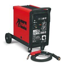 TELWIN TELMIG 250/2 TURBO SALDATRICE A FILO CONTINUO MIG-MAG GAS 380 V 35-260 A