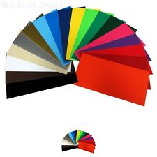 40 Sheets Assorted Colors Matte Removable Adhesive Backed Vinyl Cutters New
