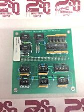 BRIDGEPORT MACHINES INC. CIRCUIT BOARD CH AXIS-I/O 11598988, 11598652