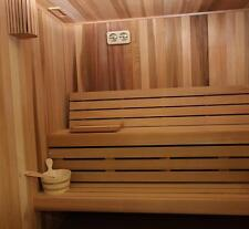 4 x 4 x 7 Baltic Leisure Gold Series Pre-cut Sauna Package