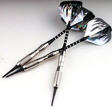 3 Sets Soft Tip Brass Darts Dart for Electronic Dartboard with Extra 36 Tips