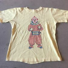 70s VTG HOWDY DOODY CLARABELL THE CLOWN T Shirt Television Show XS Promo TV Soft