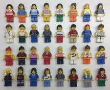 5 LEGO GIRL WOMAN MINIFIGS LOT random bulk city town female figures