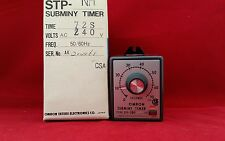 OMRON stp-nh subminy 12S 12second relay TIMER