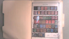 GOLD COAST COLLECTION ON ALBUM PAGES, MINT/USED