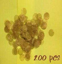 "(200) ct 7/8"" .875"" 23mm Brass Pipe Screen USA SELLER metal wood screens Tobacco"